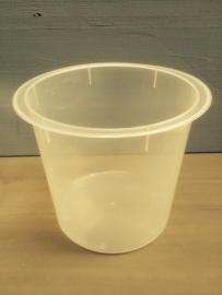 Plastic inzet beker