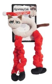Grumpy cat christmas doorknob hanger.