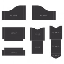 pocket and flipfold inserts A black
