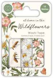 washi tape at home in the wildflowers