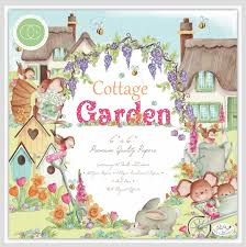 "cottage garden 12x12"" block"