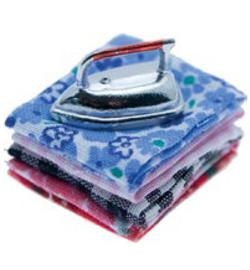 iron on laundry 2,5 cm
