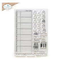 planner essential stempelset CS235 all the details