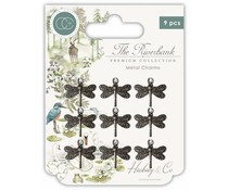 the riverbank dragonfly charms
