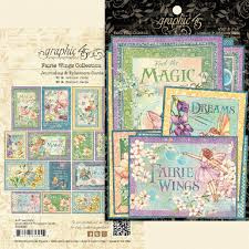 faire wings ephemera & journaling cards