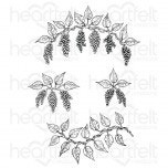 wisteria cling stamp