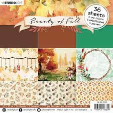 "beauty of fall 6x6"" (15x15 cm)"