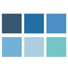 """multipack blue 6x6"""" 15,2 x 15,2 cm."""