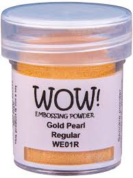 gold pearl regular WE 01R