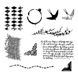journaling stamp set 144