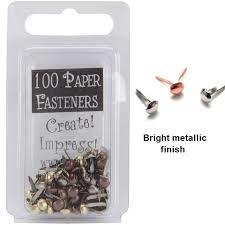 metal mini round aast. bras 100 stuks
