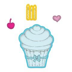 sugarspun cupcake