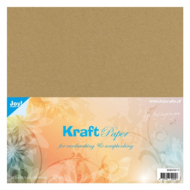 """kaftpapier 12""""x12"""" 20 sheets 220 grams"""