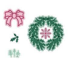 seasonal wreath die
