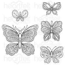 smal floral butterfly