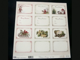 Christmas in Norway  labels PD6409