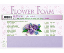 flower foam light lilac