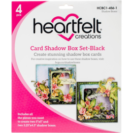 card shadow box card black