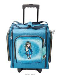 gorjuss wheelbase craft tote hush little bunny