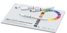 pigment blok speciaal ontworpen voor de pigmentinkt stiften