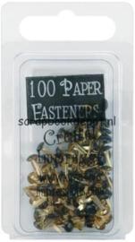 100 stuks paper fasteners