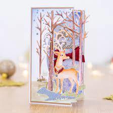 reindeer forest create a card