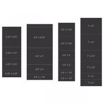 pocket and flipfold inserts B-Black