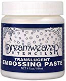 dreamweaver crackle embossing paste