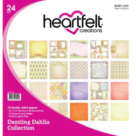 dazzling dahlia design block collectie
