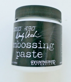 embossingpaste wit