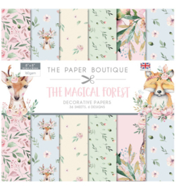 the magical forest decorative papers
