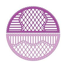rounded  lattice window frame die