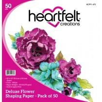 de luxe flower shaping paper pack van 25 stuks