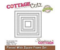 pierced square set