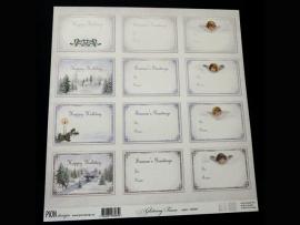 Glistening season labels PD6609