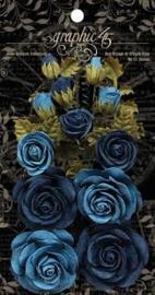 bloemen blauw