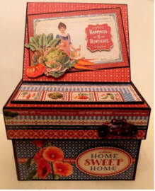 photo/recipe box with stand kit