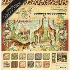 """safari adventure 12x12"""" de luxe collector's edition"""
