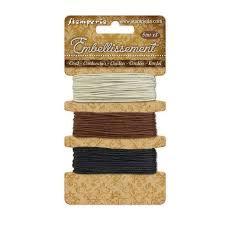cord ivory-brown en black