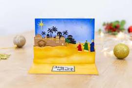 a Bethlehem scene
