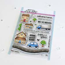 home sweet home clear stamps set