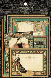 enchanted forest collection journaling en ephemera cards