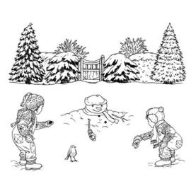 winter scene sneeuwpop 48