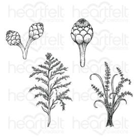 floral shoppe filters cling stamp set