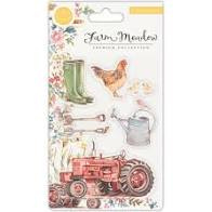 farm  meadow clear stamps