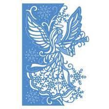 create a card  elegant angel