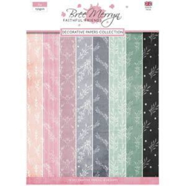 decorative papers collection faithful friends