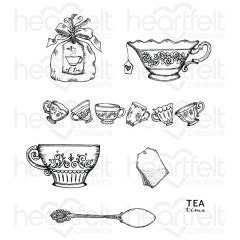 sweet shoppe treats cling stamps