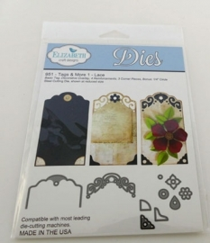 951 tags & more 1 lace