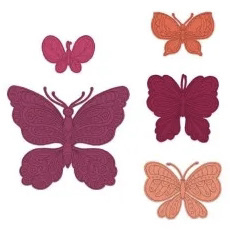 small floral butterfly